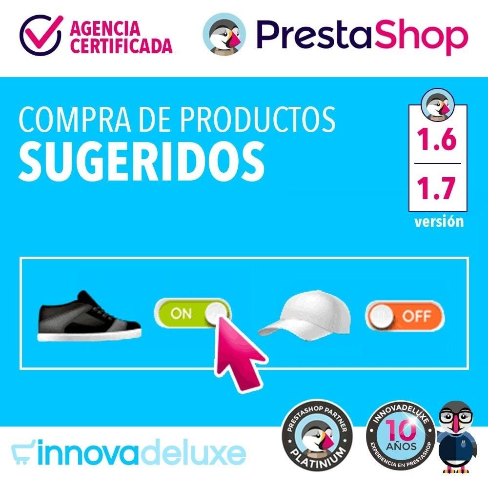 module - Ventas cruzadas y Packs de productos - Productos sugeridos para compra impulsiva - 1