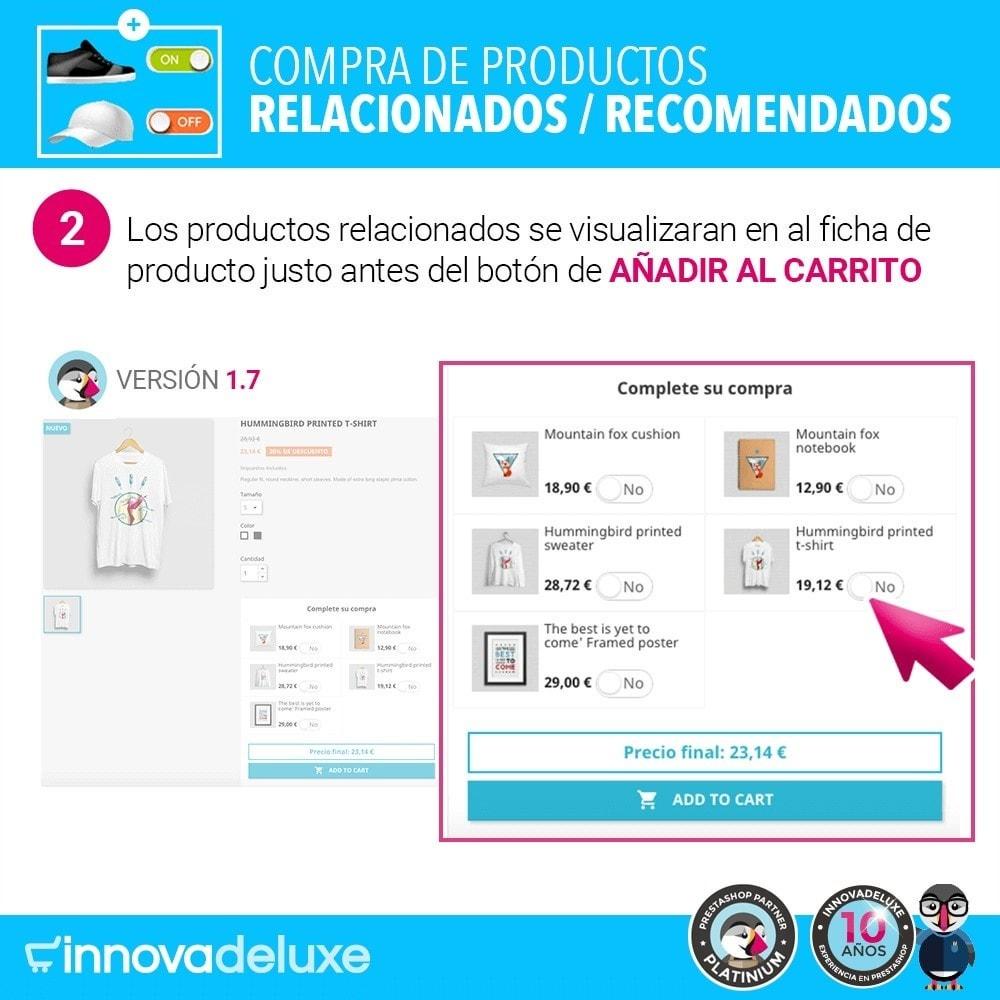 module - Ventas cruzadas y Packs de productos - Productos sugeridos para compra impulsiva - 4