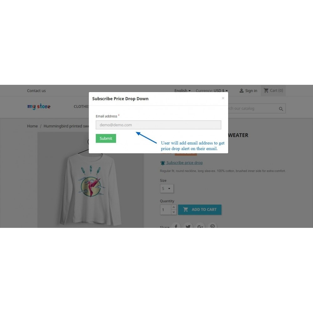 module - E-mails & Notícias - Price Drop Alert/Notifier - 5