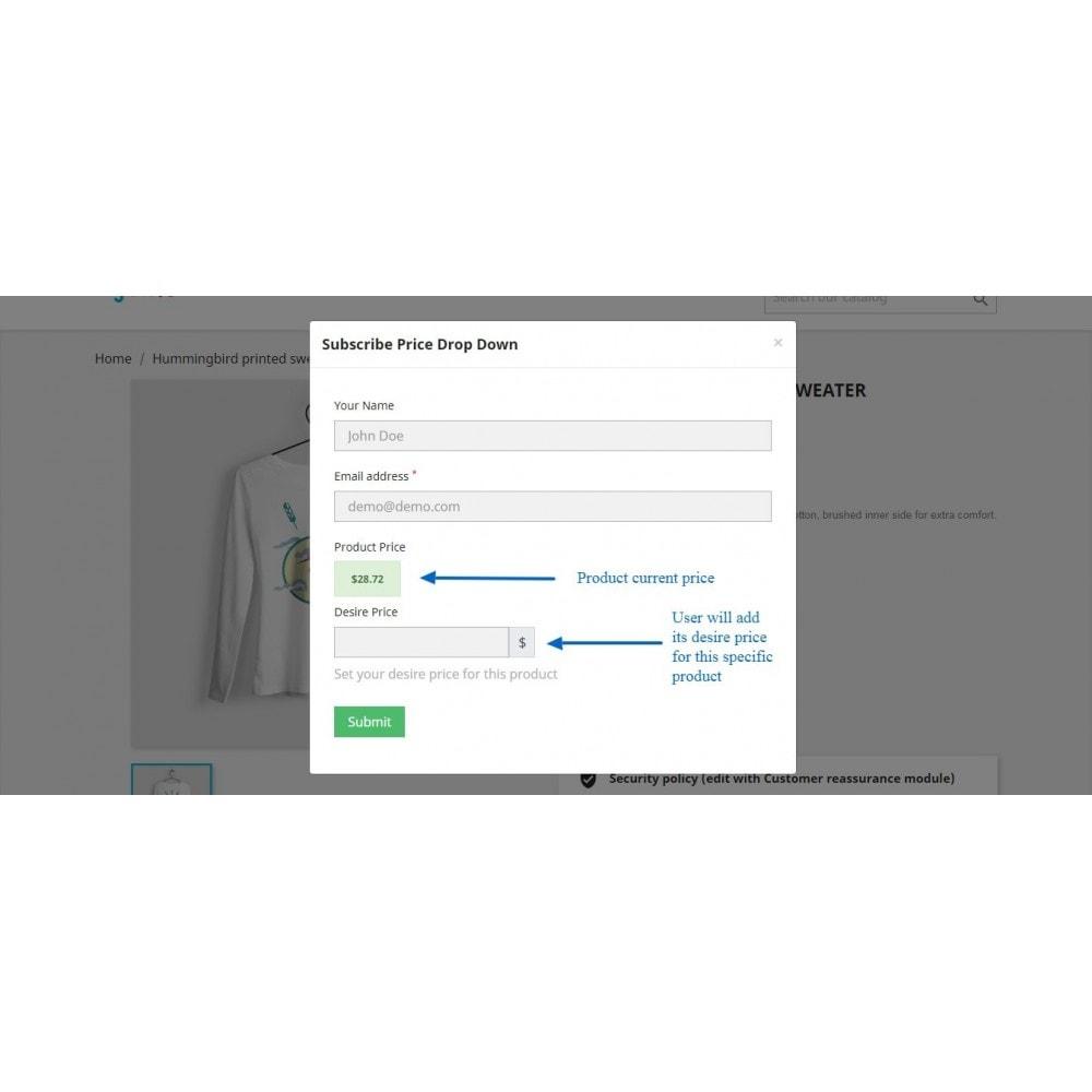 module - E-mails & Notícias - Price Drop Alert/Notifier - 14