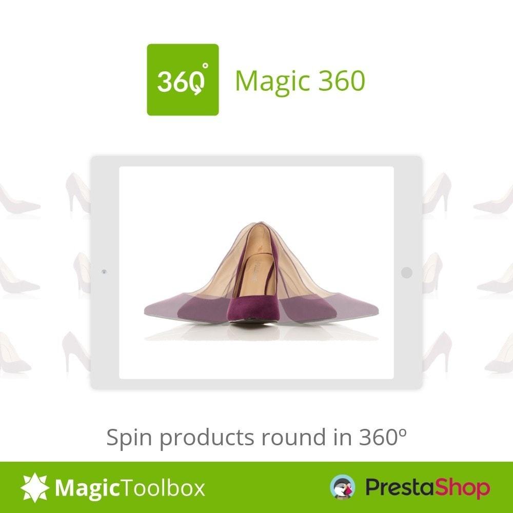 module - Visualizzazione Prodotti - Magic 360 spin - 1
