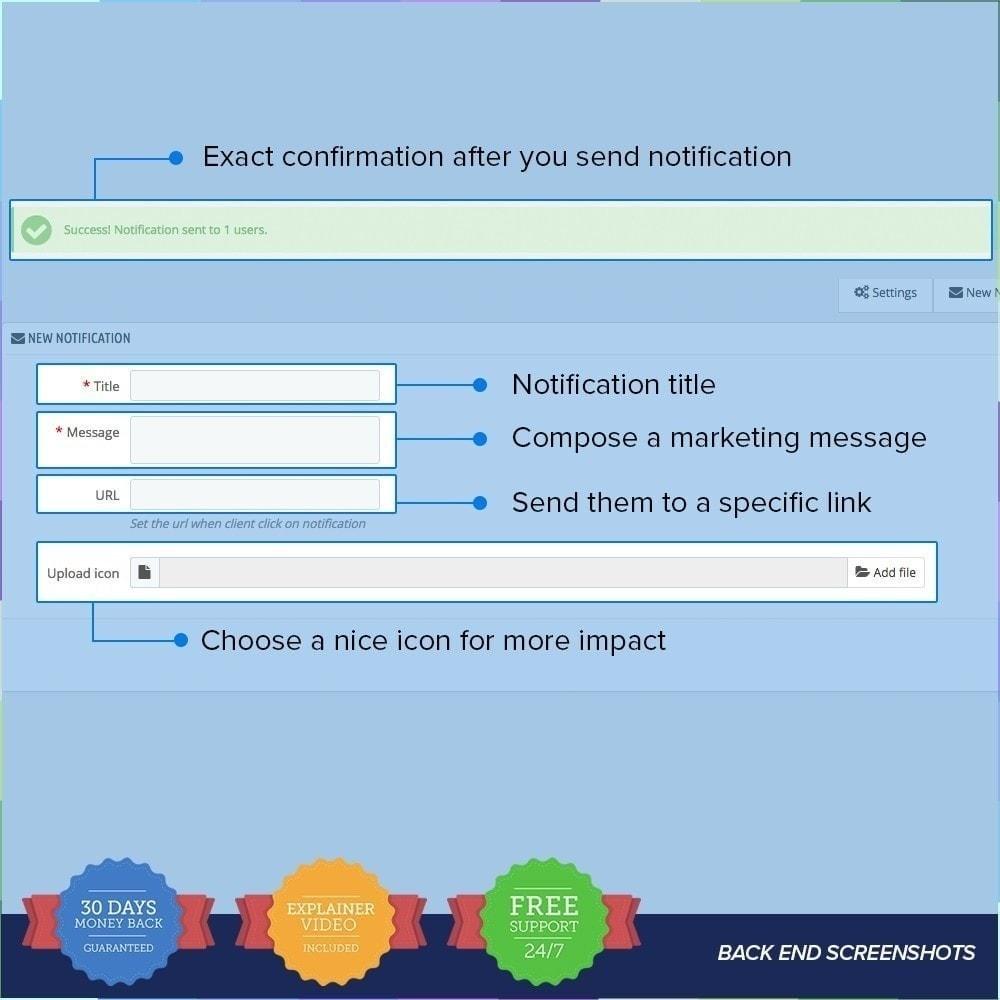 module - E-Mails & Benachrichtigungen - One Signal Push Notifications - 5