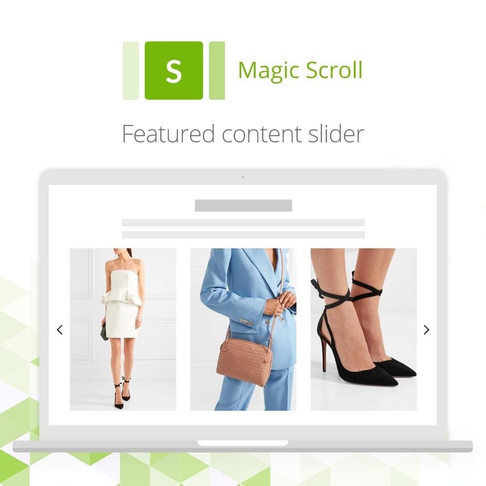 module - Navigatie middelen - Magic Scroll - 6