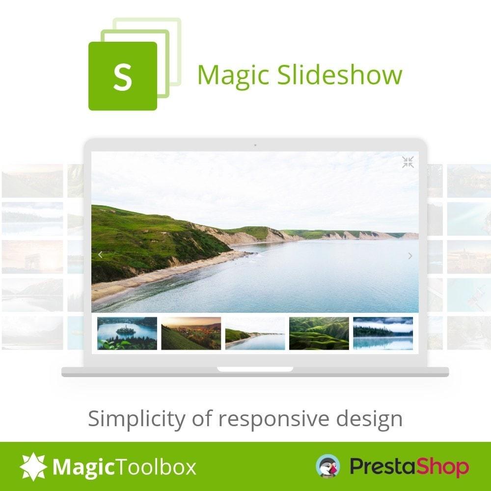module - Silder & Gallerien - Magic Slideshow - 1