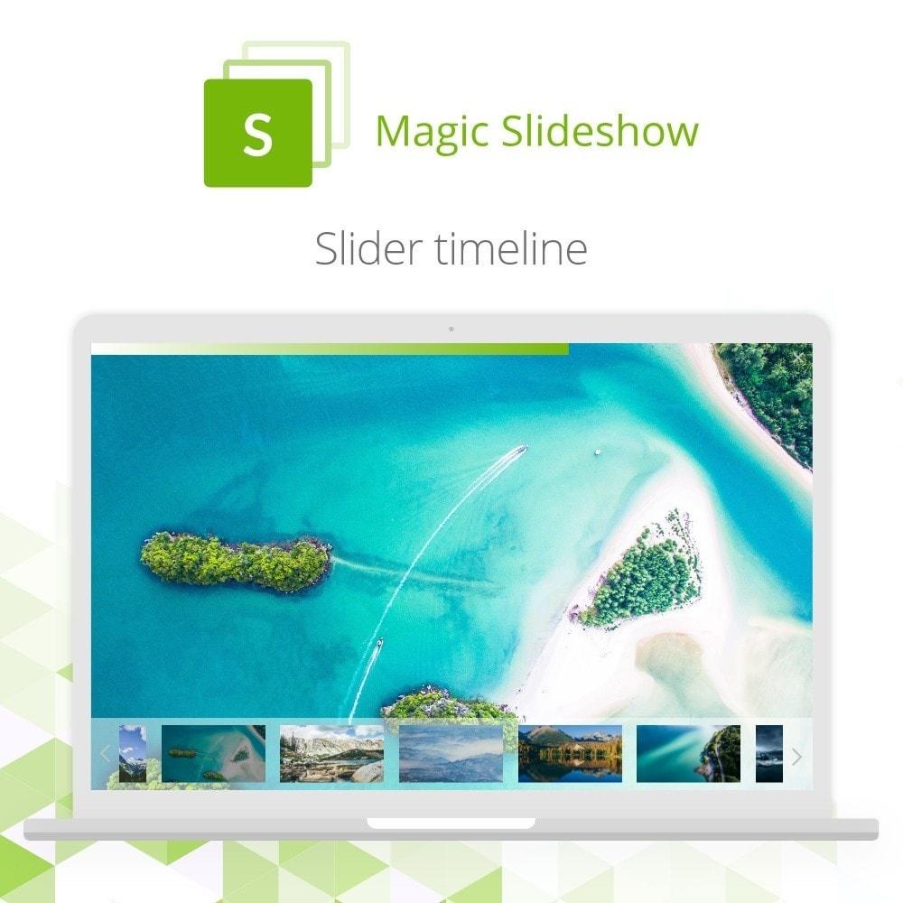 module - Silder & Gallerien - Magic Slideshow - 4