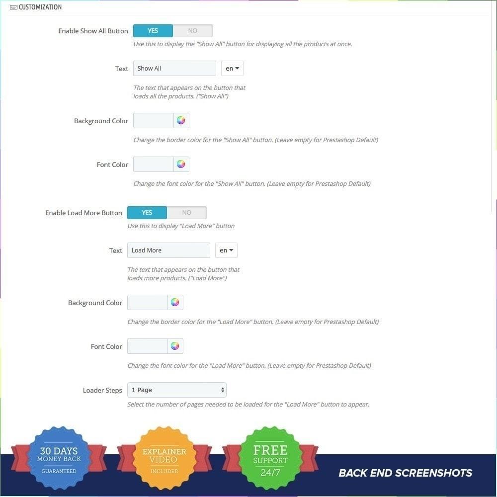 module - Herramientas de navegación - Scroll Infinito PRO - 7