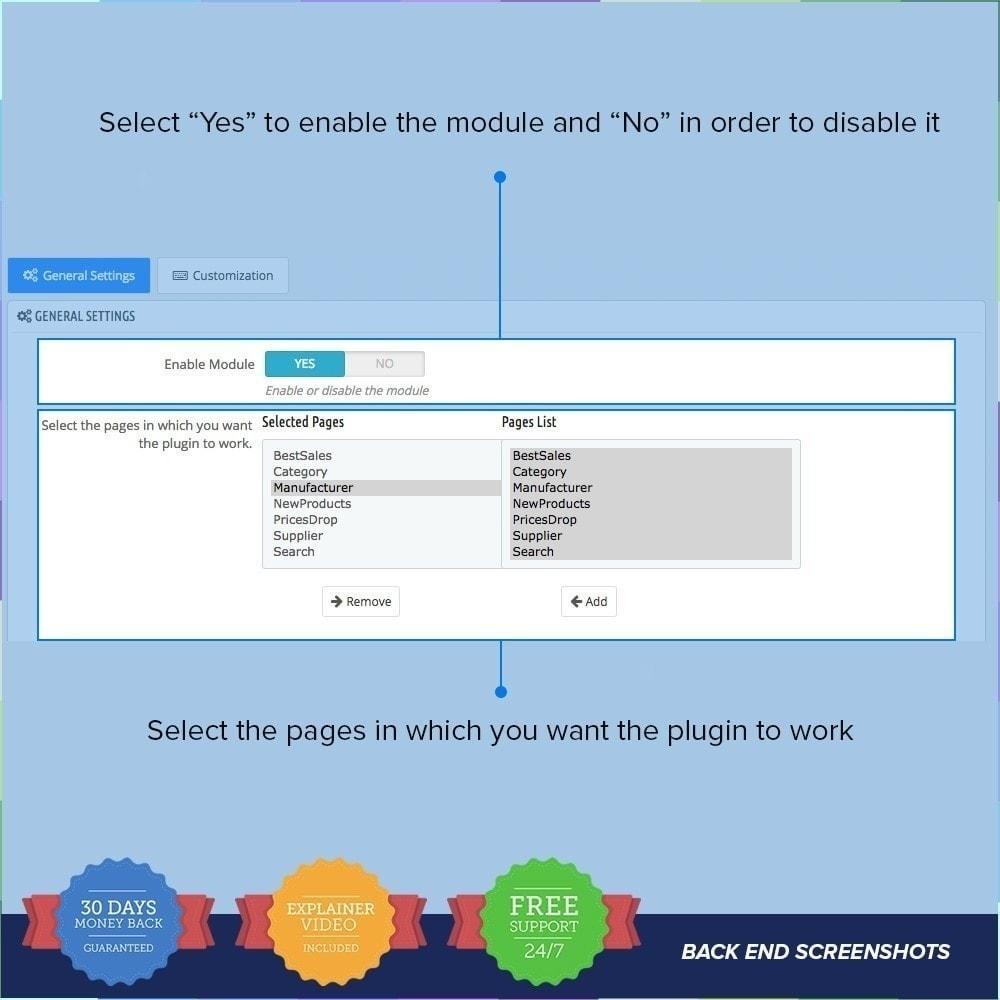 module - Tool di navigazione - Scorrimento Infinito PRO - 4