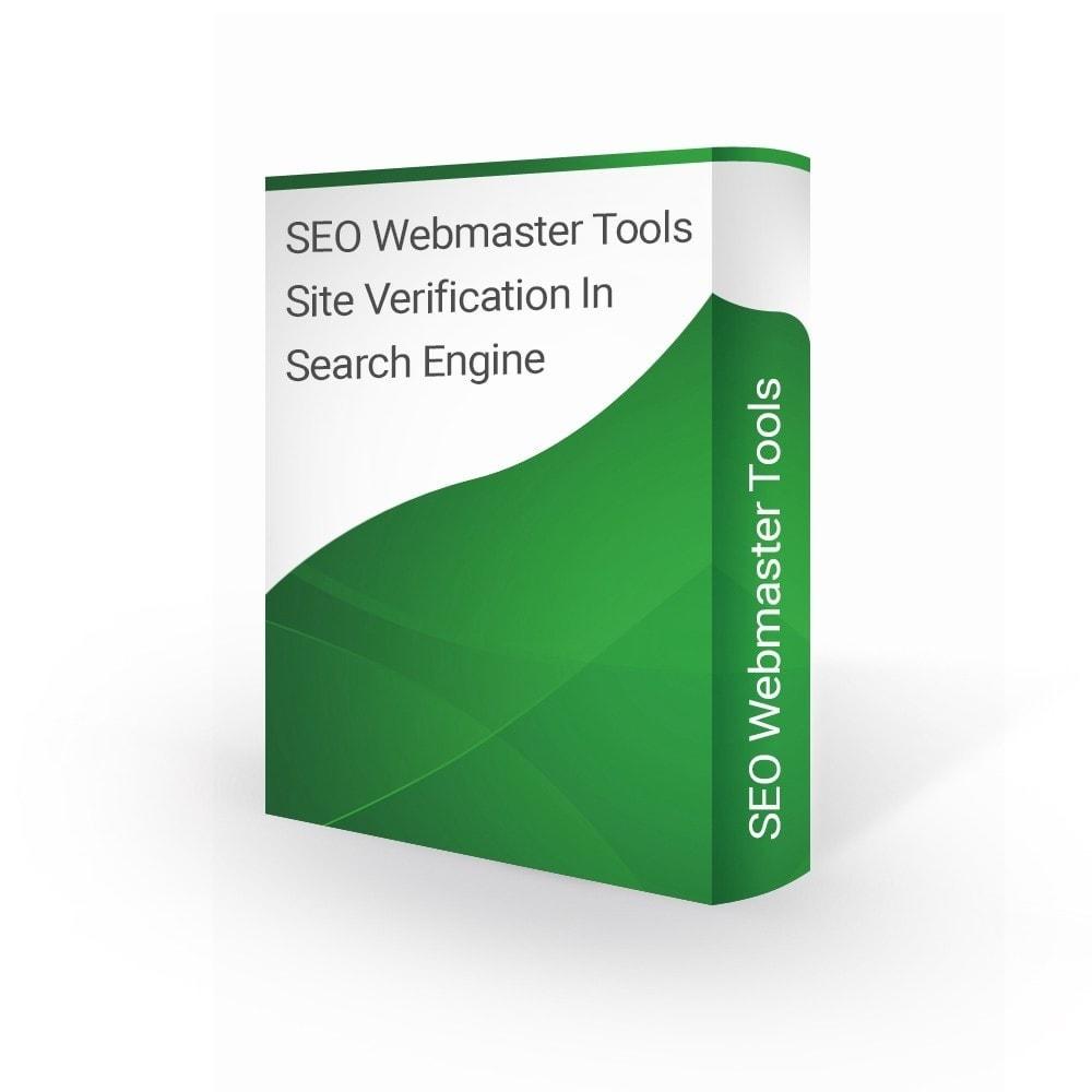 module - SEO - SEO Webmaster Tools Site Verification Search Engine - 1
