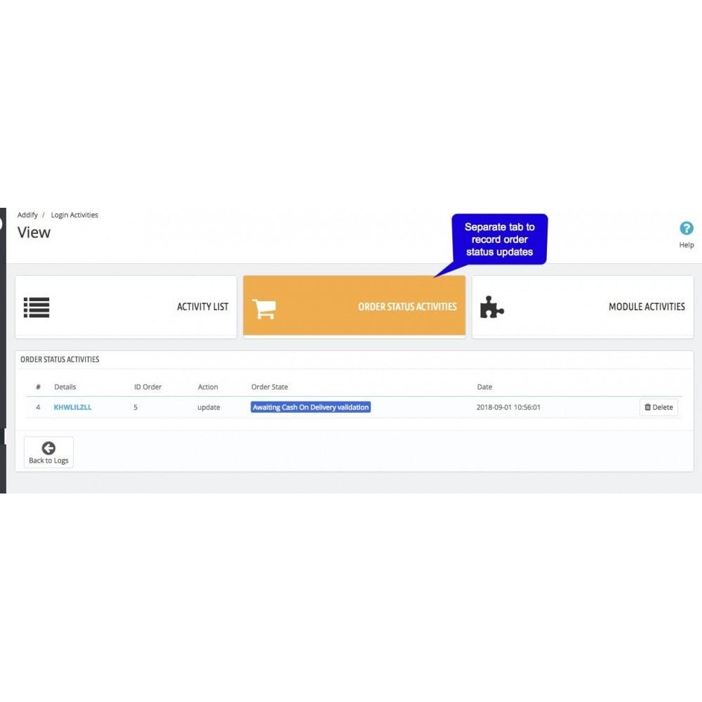 module - Social Login & Connect - Admin User's Activity Logger - 5