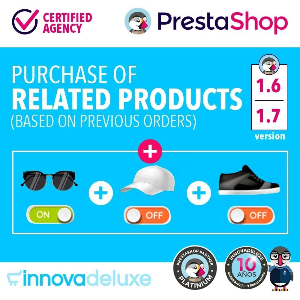module - Перекрестные продажи и Создание комплектов - Purchase of related products based on previous orders - 1