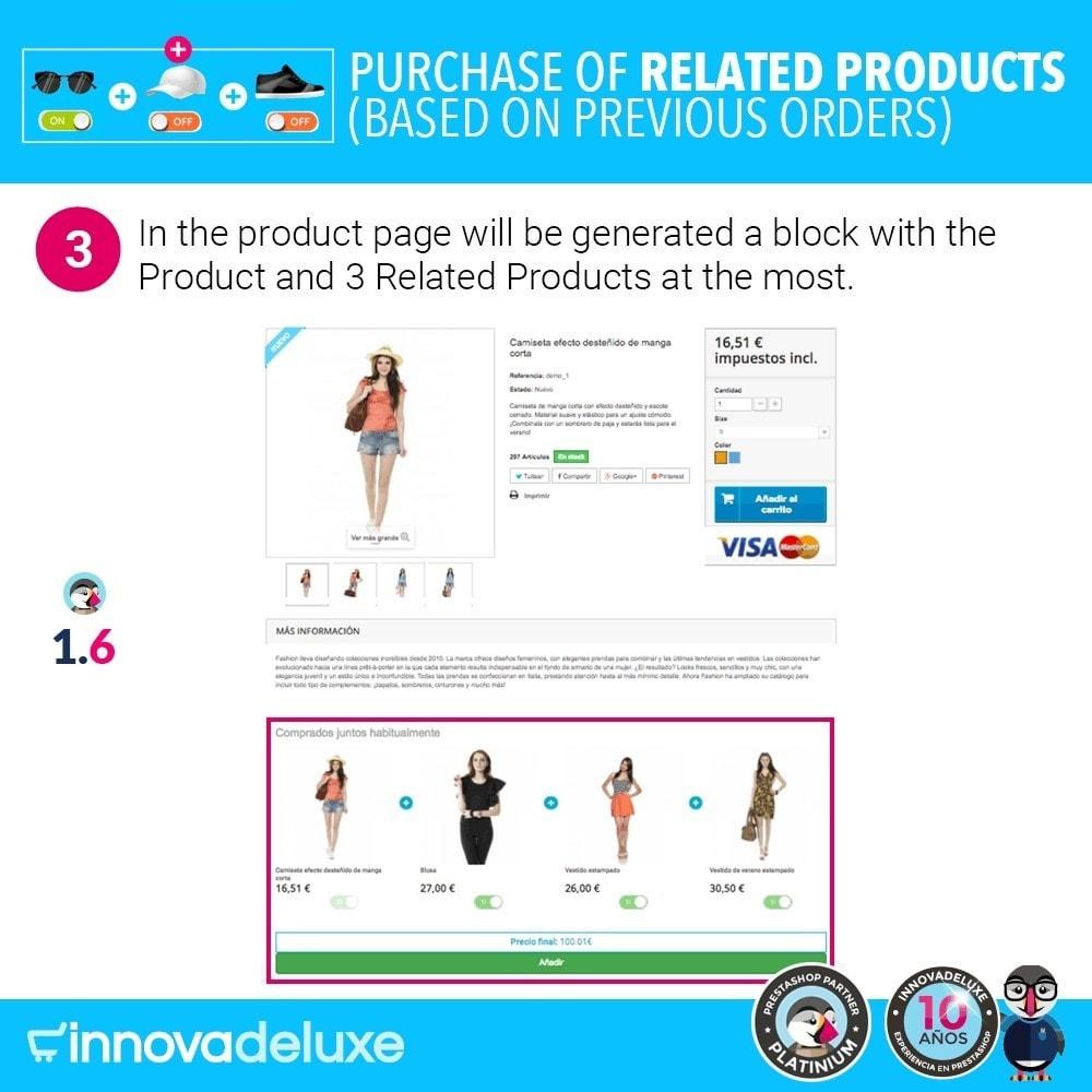 module - Перекрестные продажи и Создание комплектов - Purchase of related products based on previous orders - 7