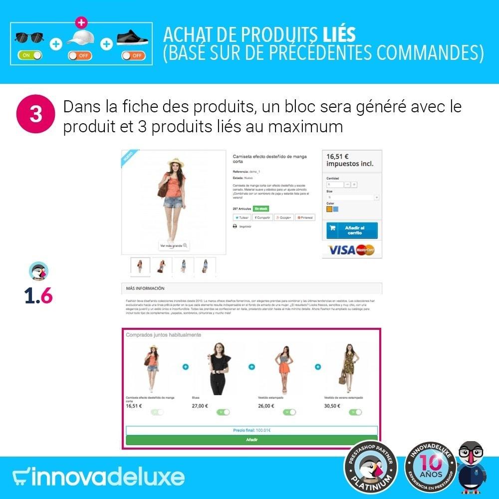 module - Ventes croisées & Packs de produits - Achat de produits liés selon les commandes précédentes - 7