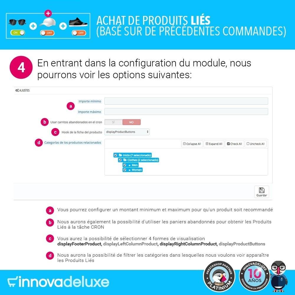 module - Ventes croisées & Packs de produits - Achat de produits liés selon les commandes précédentes - 8
