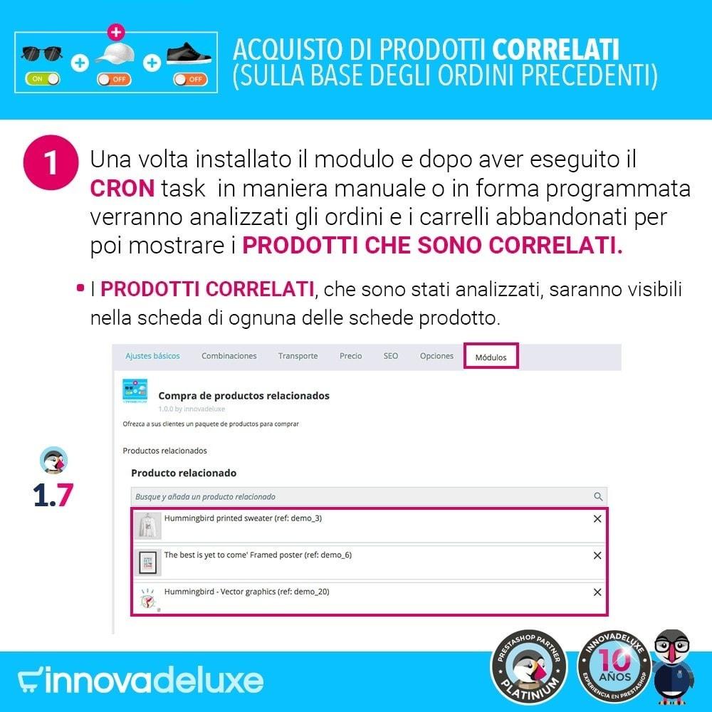 module - Cross-selling & Product Bundle - Prodotti correlati sulla base degli ordini anteriori - 2