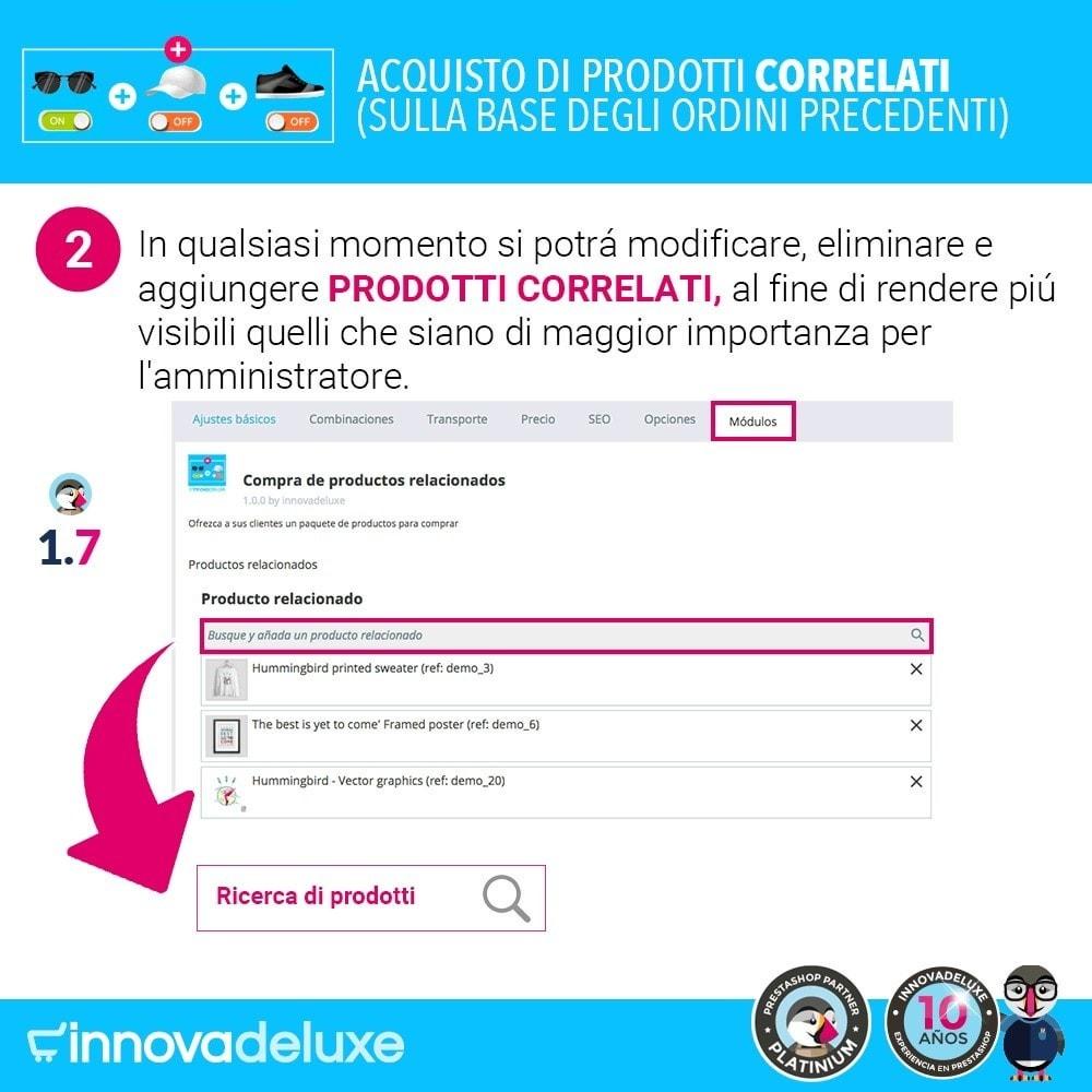 module - Cross-selling & Product Bundle - Prodotti correlati sulla base degli ordini anteriori - 4