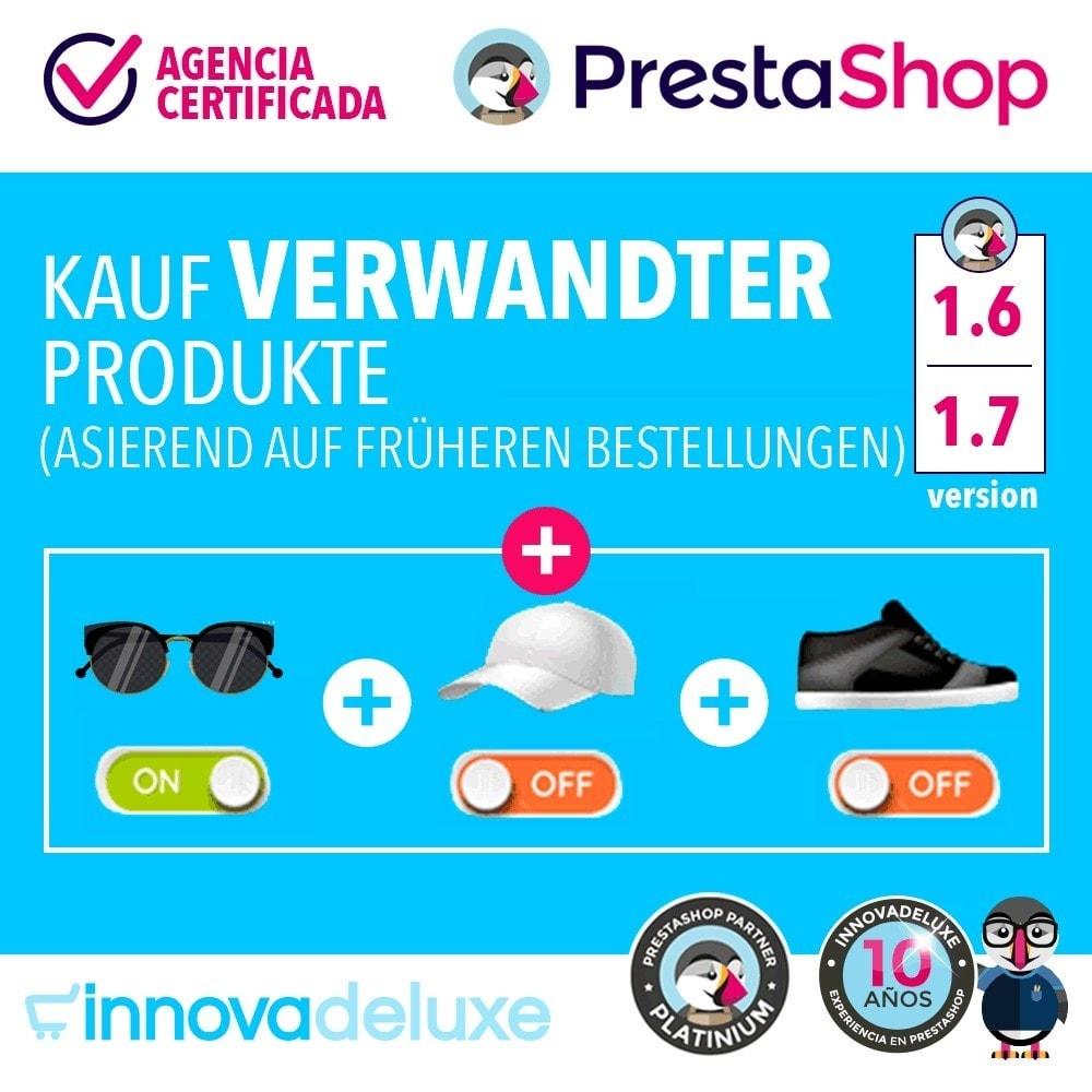 module - Cross-Selling & Produktbundles - Kauf verwandter Produkte aufgrund früherer Bestellungen - 1