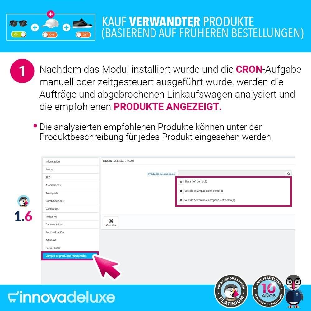 module - Cross-Selling & Produktbundles - Kauf verwandter Produkte aufgrund früherer Bestellungen - 3