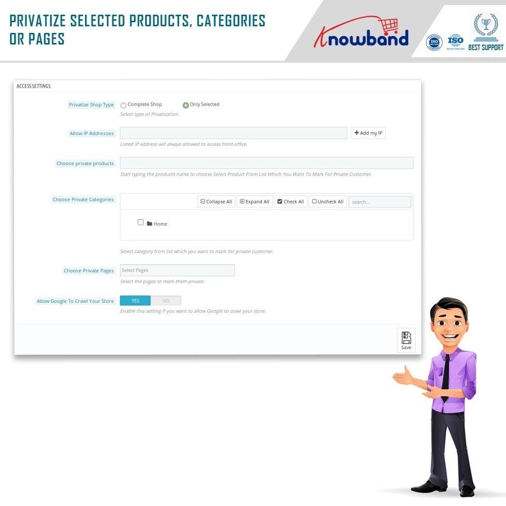 module - Uitverkoop & Besloten verkoop - Knowband - Private Shop - 9