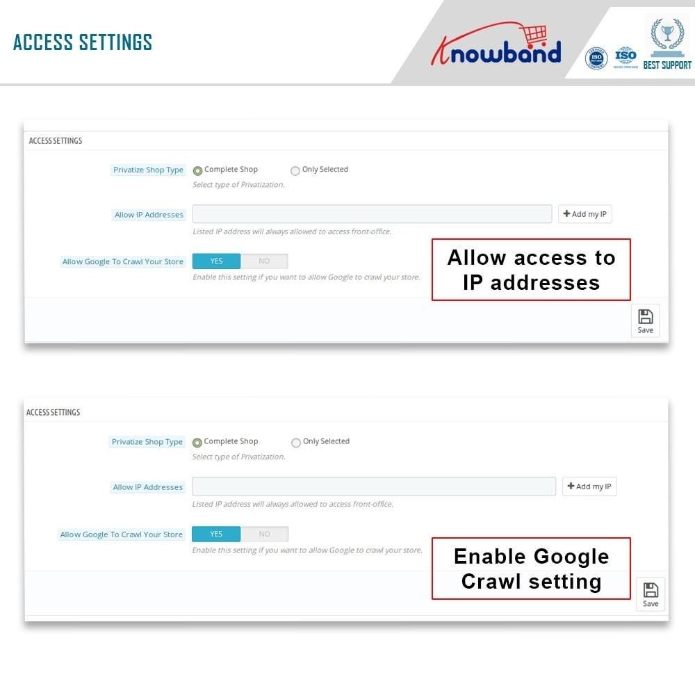 module - Uitverkoop & Besloten verkoop - Knowband - Private Shop - 10