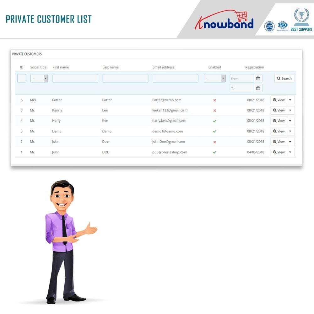 module - Uitverkoop & Besloten verkoop - Knowband - Private Shop - 11