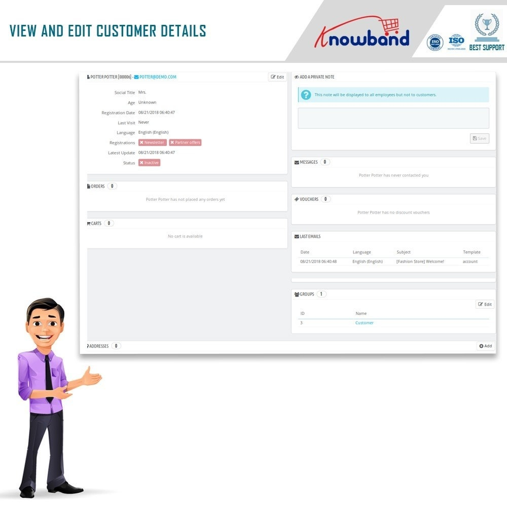 module - Uitverkoop & Besloten verkoop - Knowband - Private Shop - 12