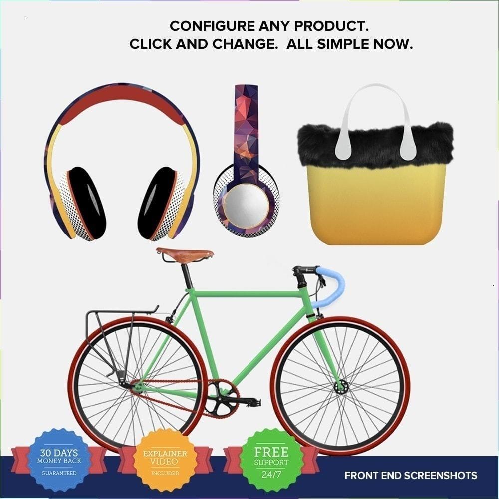 module - Combinazioni & Personalizzazione Prodotti - Compositore di Prodotti PRO - 2