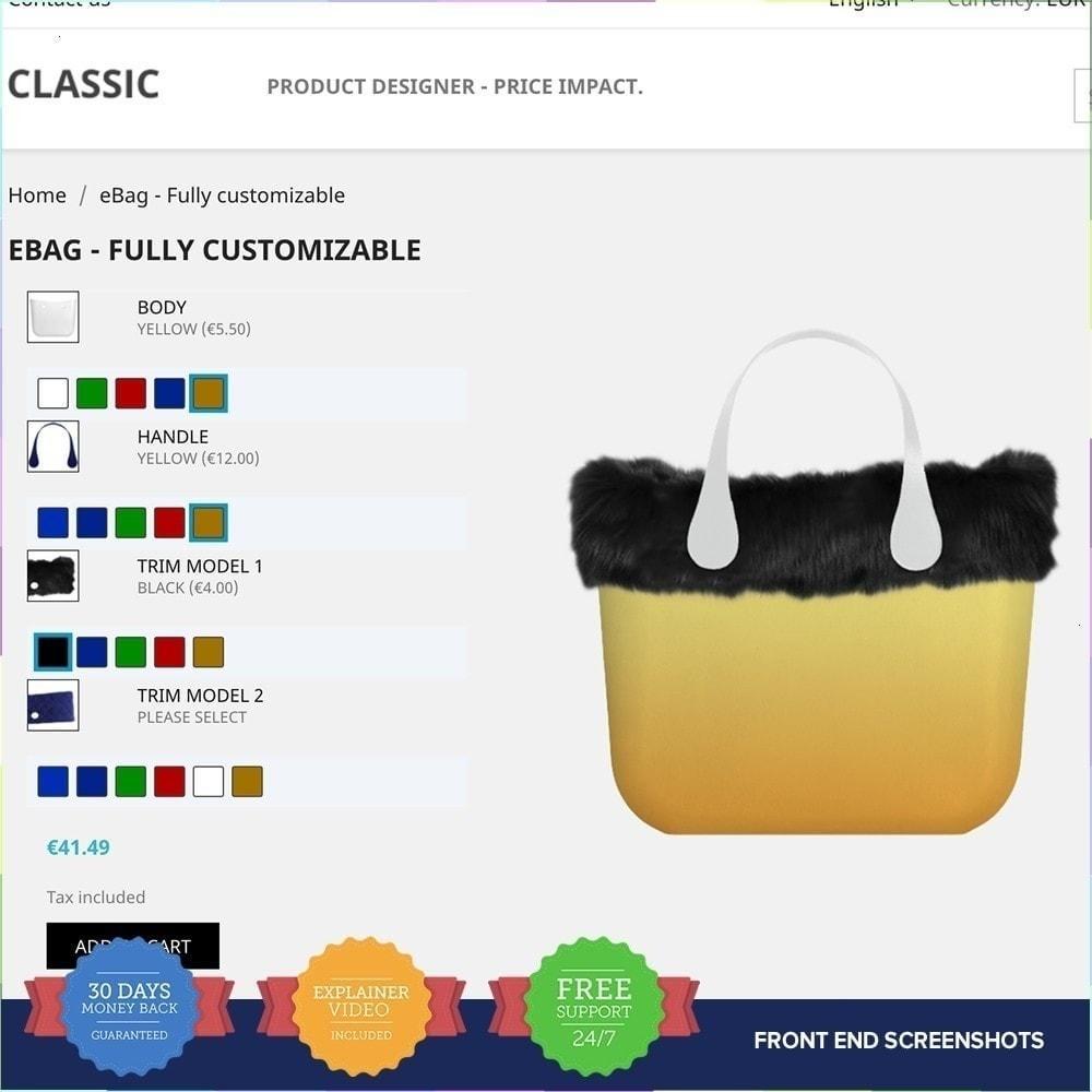 module - Combinaciones y Personalización de productos - Producto Compositor PRO - 3
