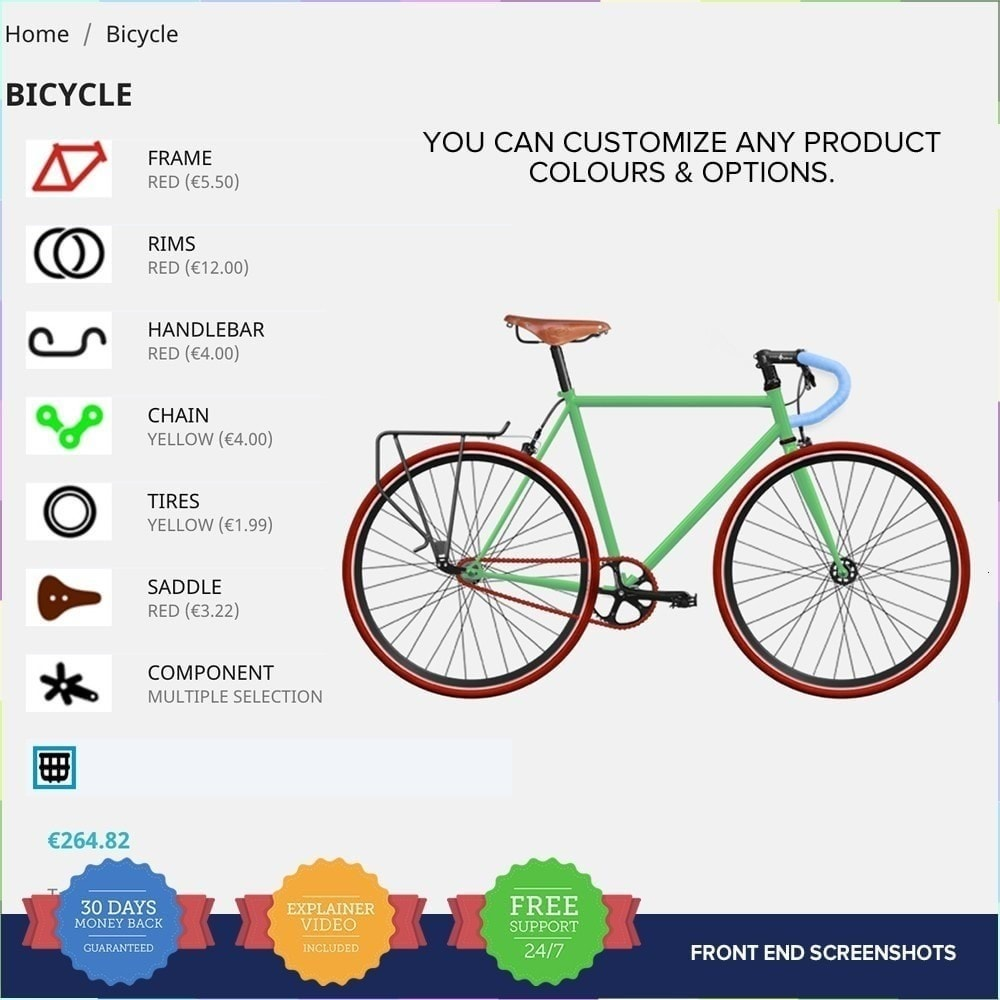 module - Combinaciones y Personalización de productos - Producto Compositor PRO - 7
