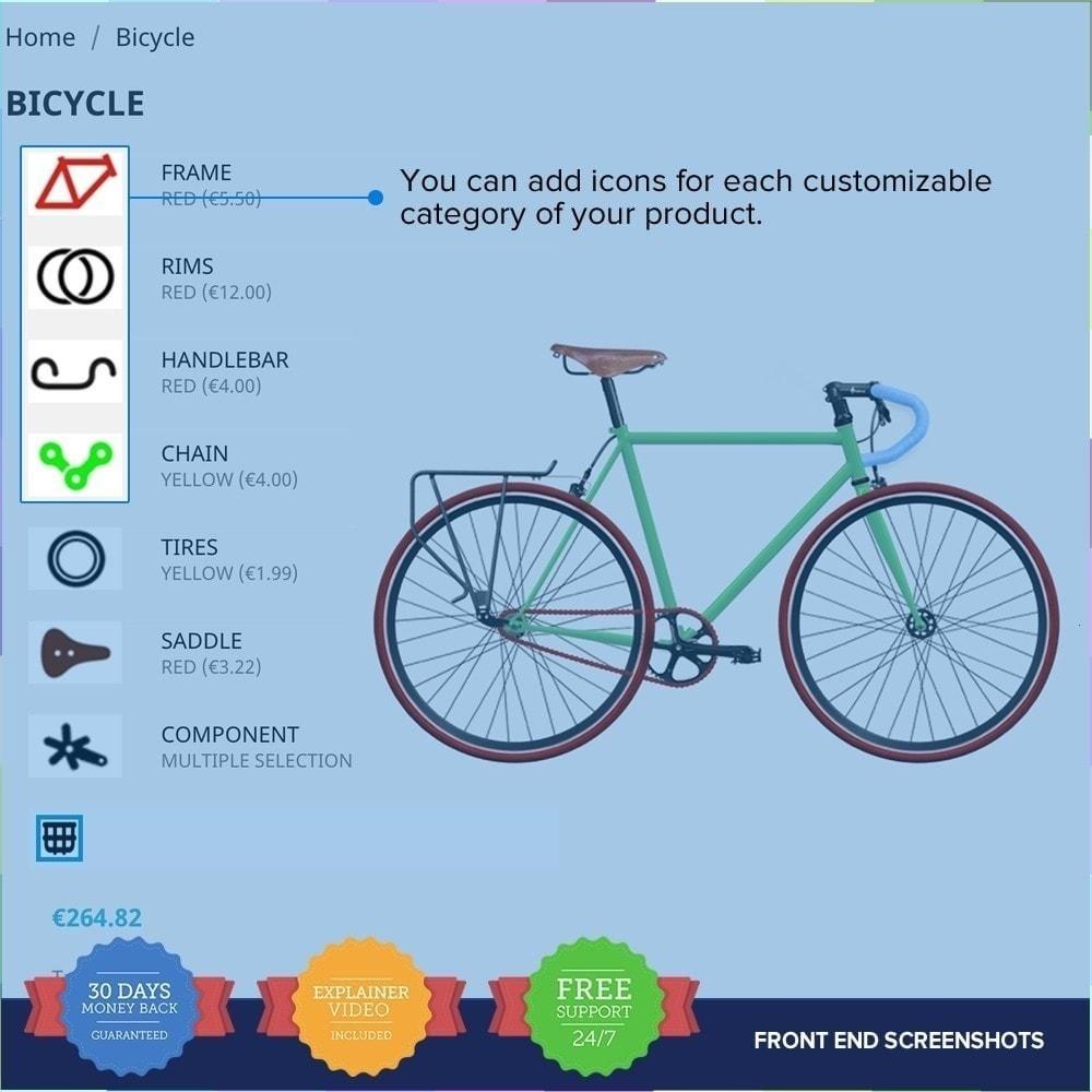 module - Combinaciones y Personalización de productos - Producto Compositor PRO - 8