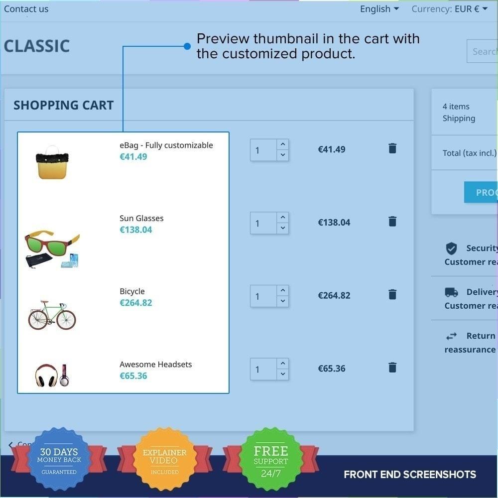 module - Combinaciones y Personalización de productos - Producto Compositor PRO - 11