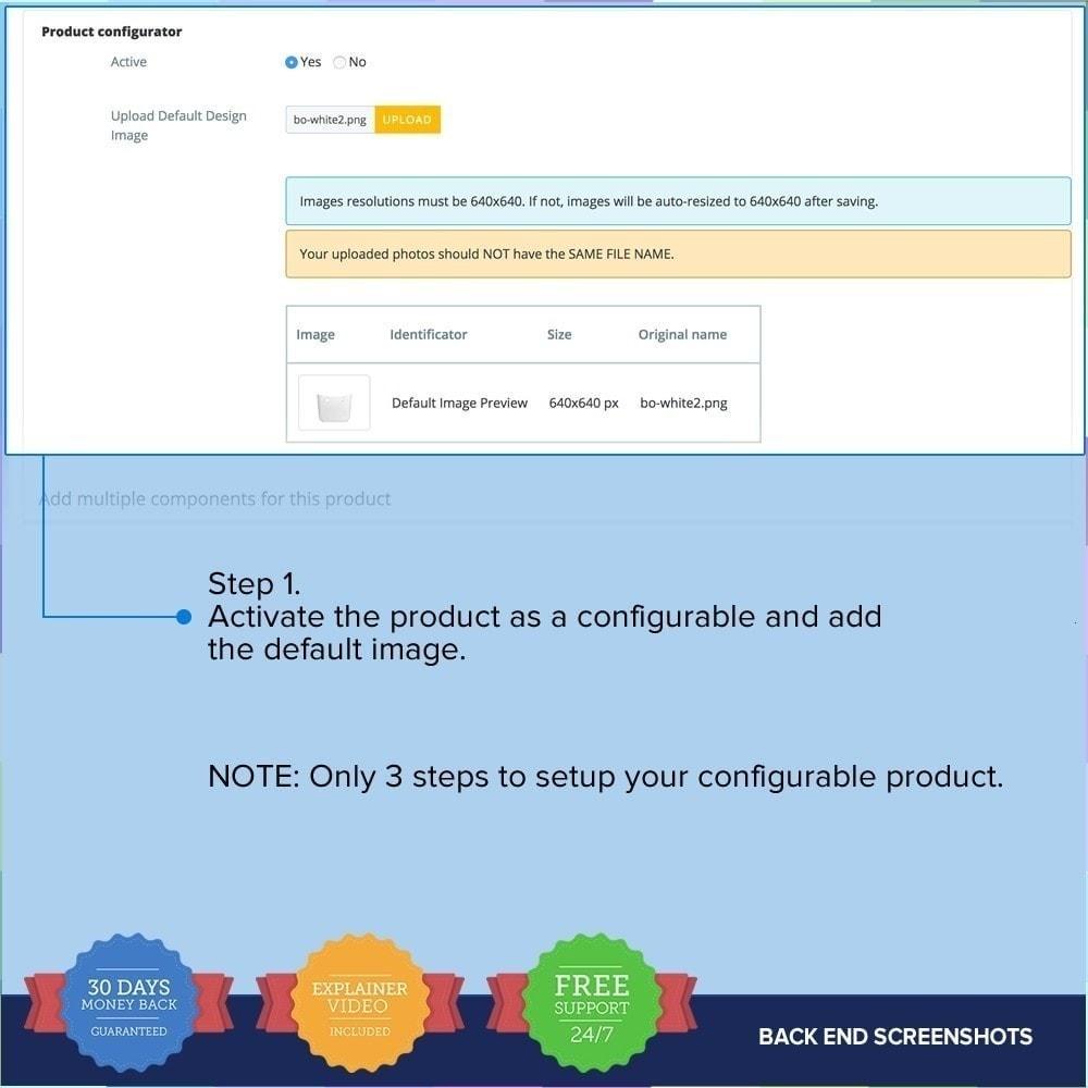 module - Combinaciones y Personalización de productos - Producto Compositor PRO - 13
