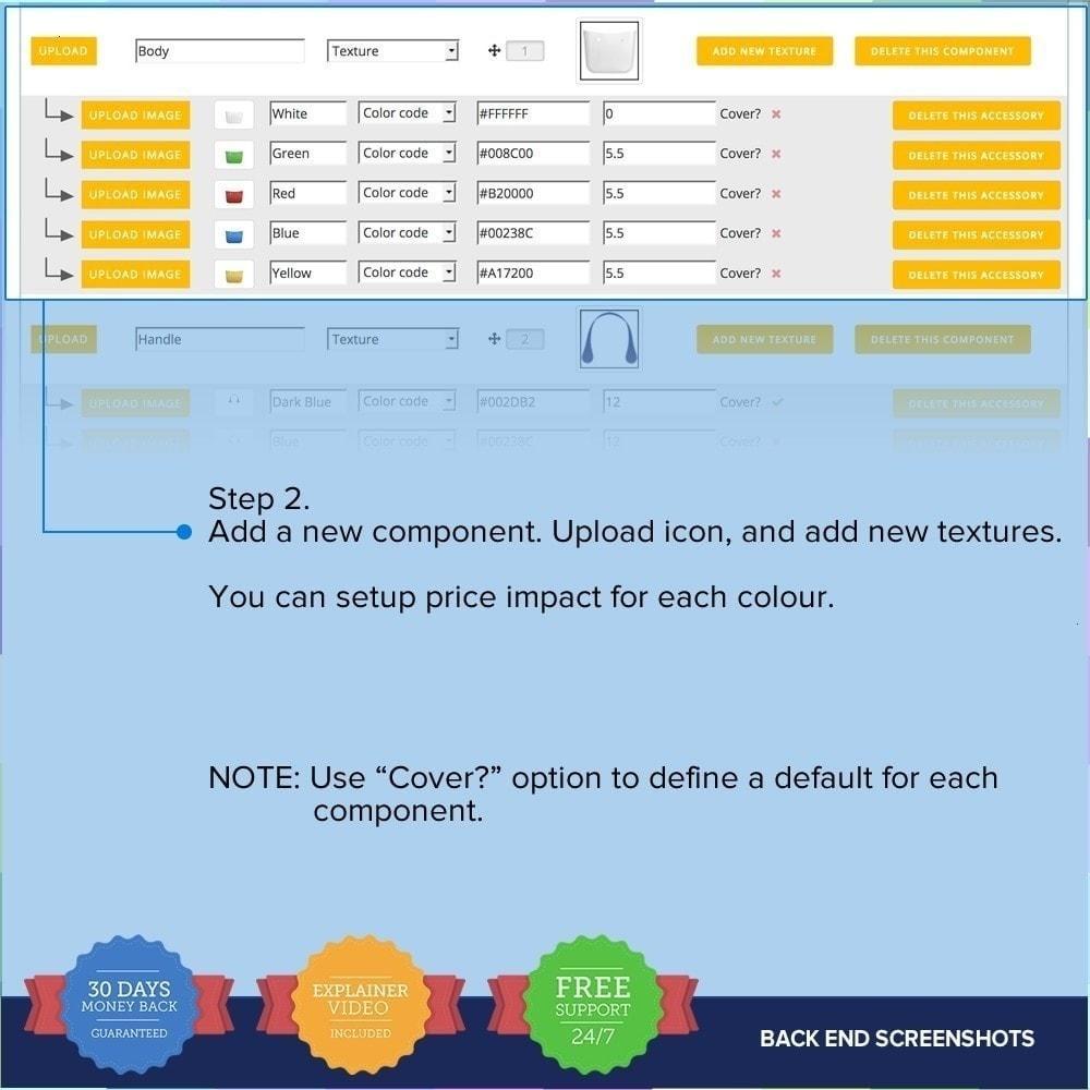 module - Combinaciones y Personalización de productos - Producto Compositor PRO - 14