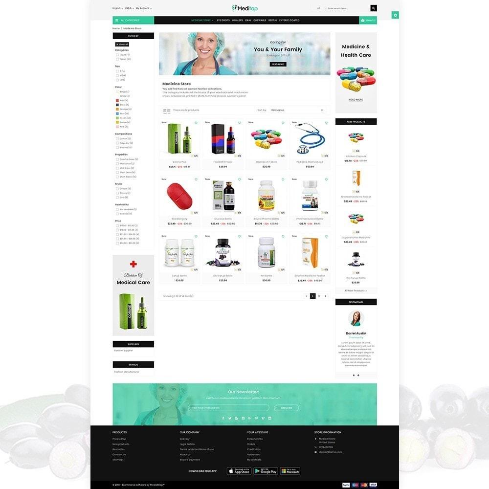 theme - Health & Beauty - MediTap – Medical Mega Mart - 3