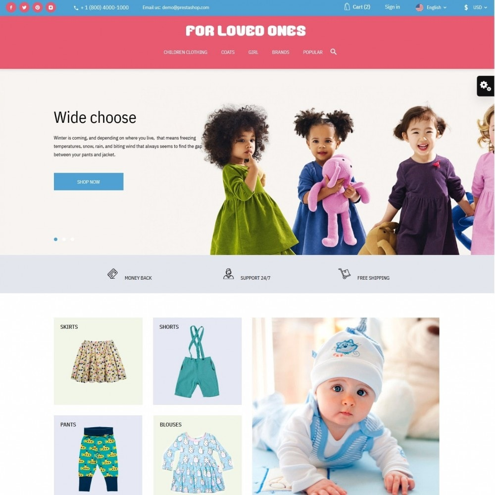 theme - Kids & Toys - For loved ones - 2