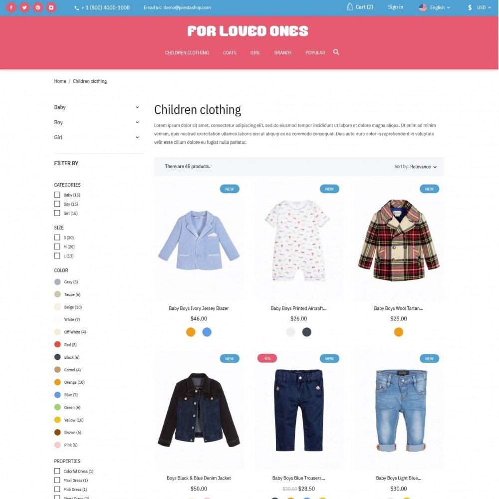 theme - Kids & Toys - For loved ones - 5