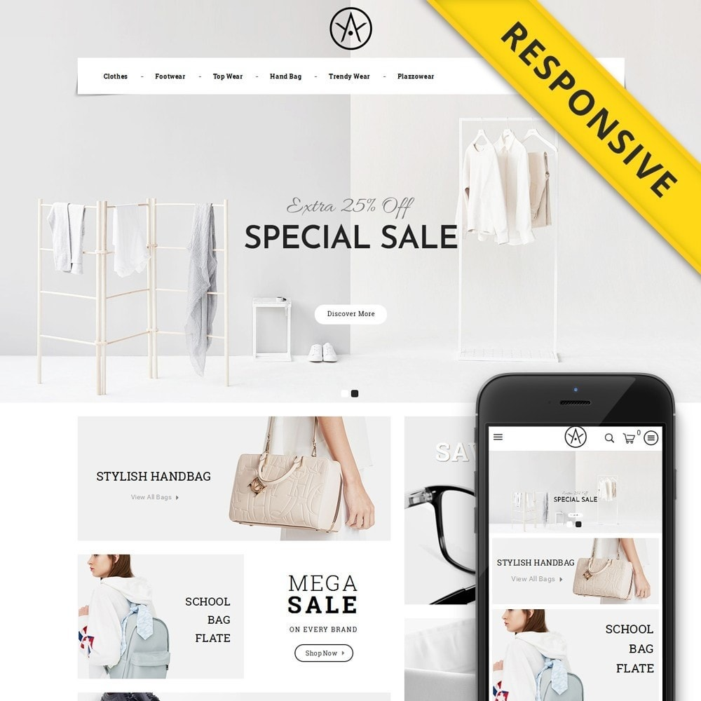 theme - Fashion & Shoes - ATLAS - Accessories Store - 1