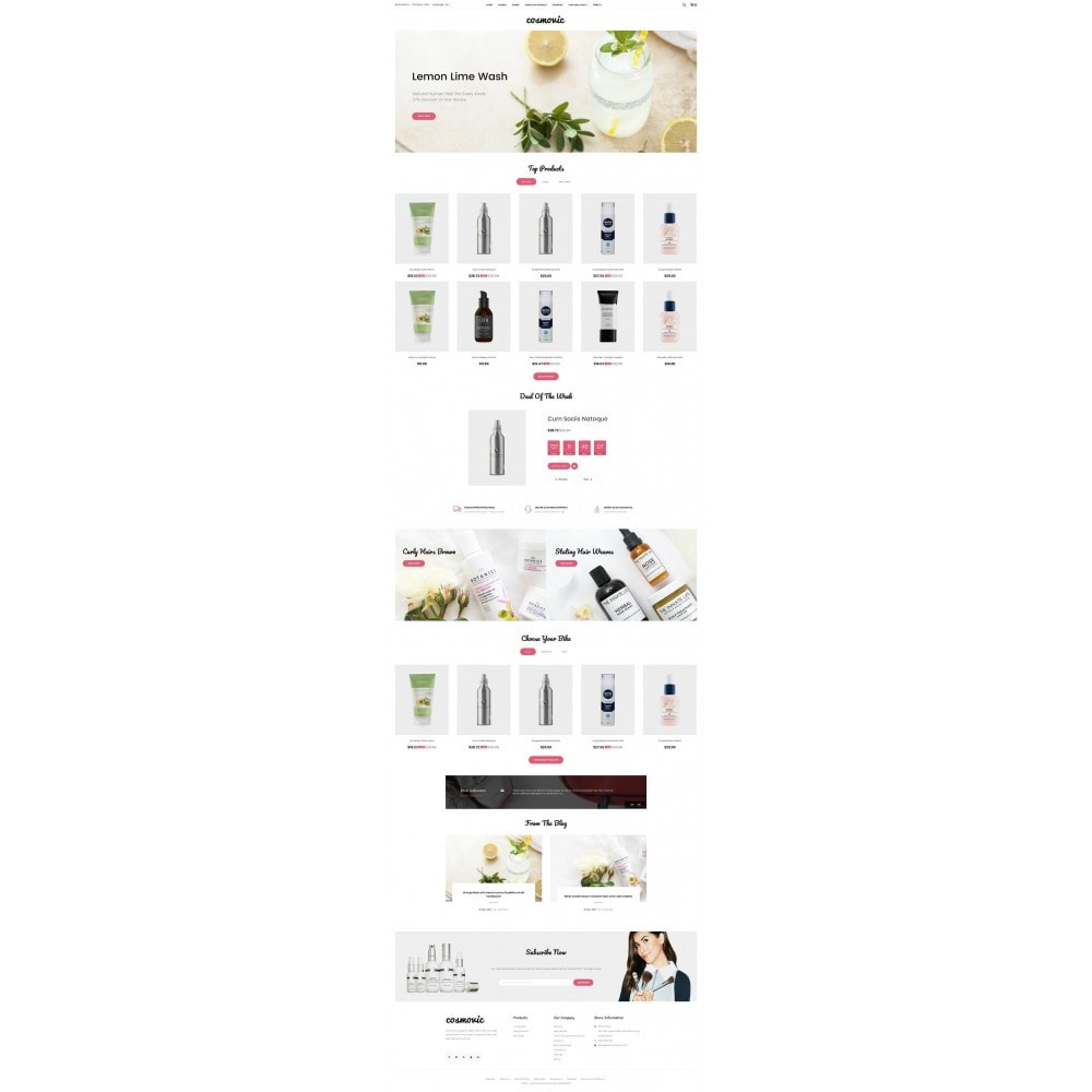 theme - Jewelry & Accessories - Cosmovic - Cosmetics Store - 2