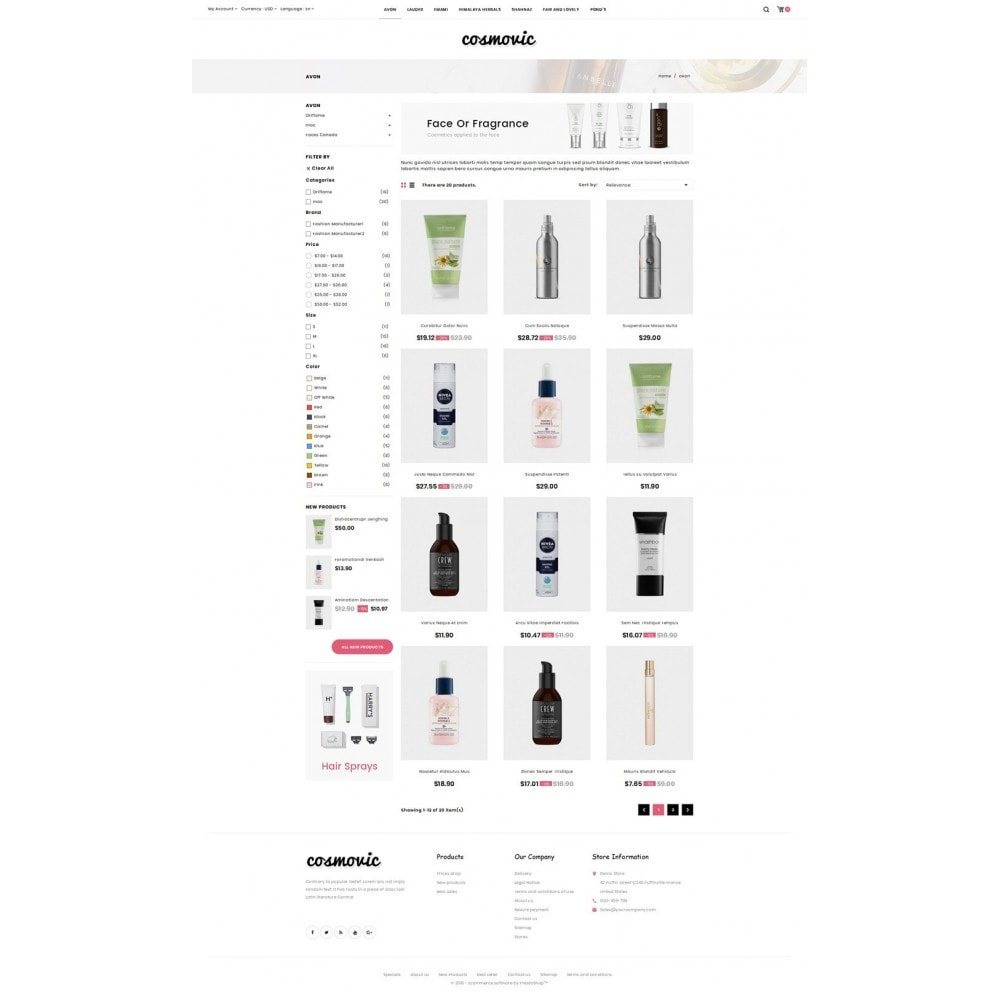 theme - Jewelry & Accessories - Cosmovic - Cosmetics Store - 3