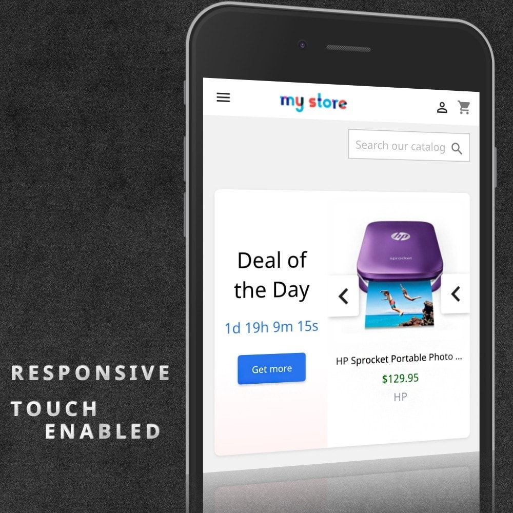 module - Flash & Private Sales - Deals of the Day Pro slider with countdown - 3