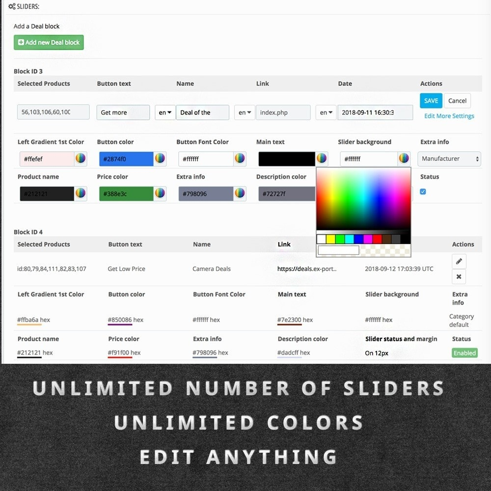 module - Flash & Private Sales - Deals of the Day Pro slider with countdown - 4