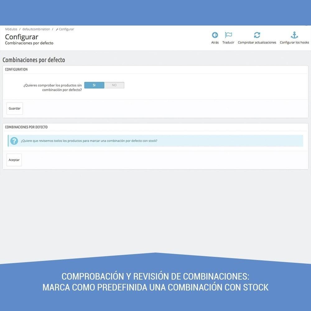 module - Combinaciones y Personalización de productos - Combinación por defecto siempre activa - 5