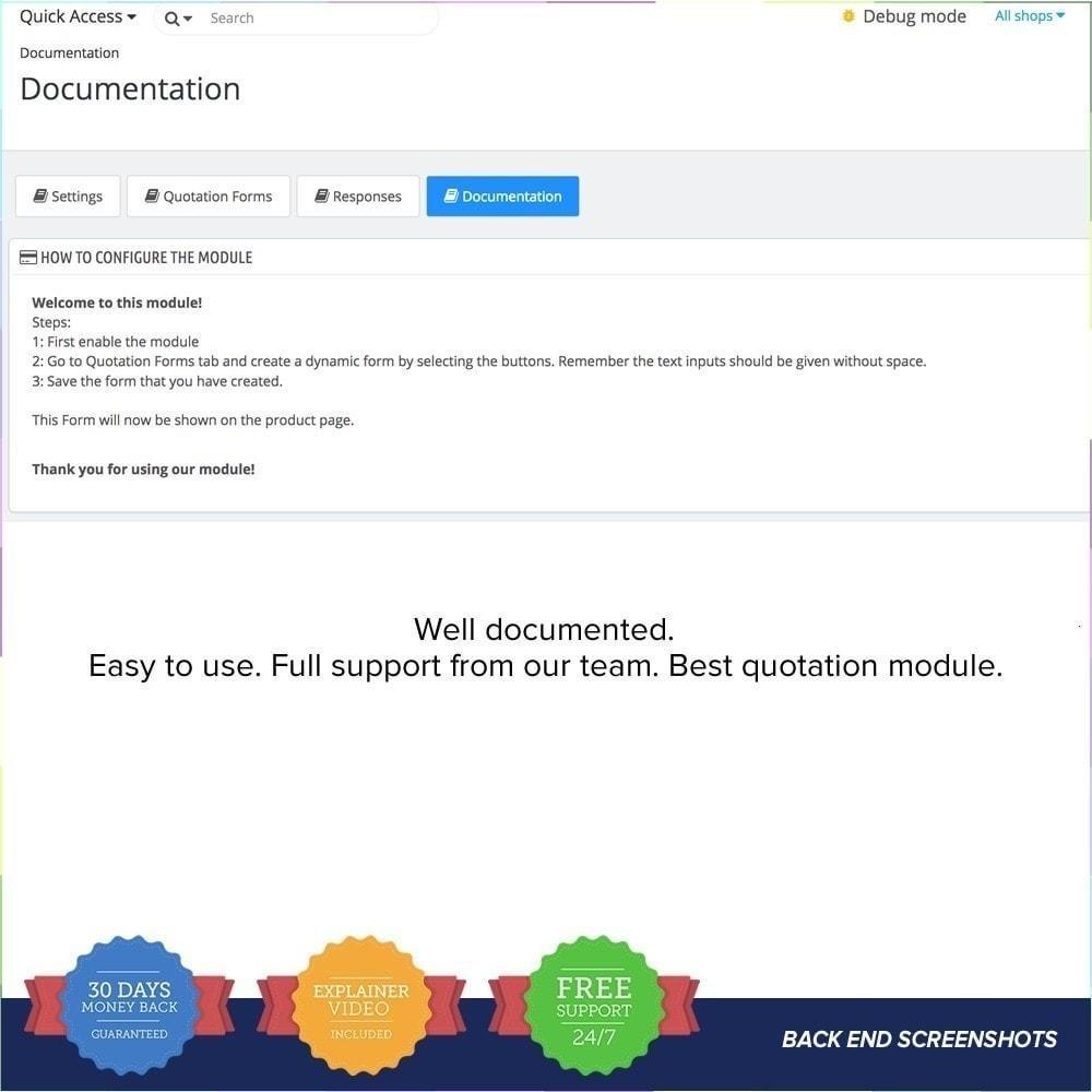 module - Angebotsmanagement - Online Quotation PRO - 8