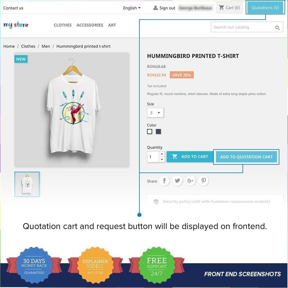 module - Angebotsmanagement - Online Quotation PRO - 10