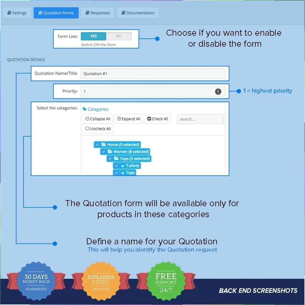 module - Preventivi - Quotazione Online - 2