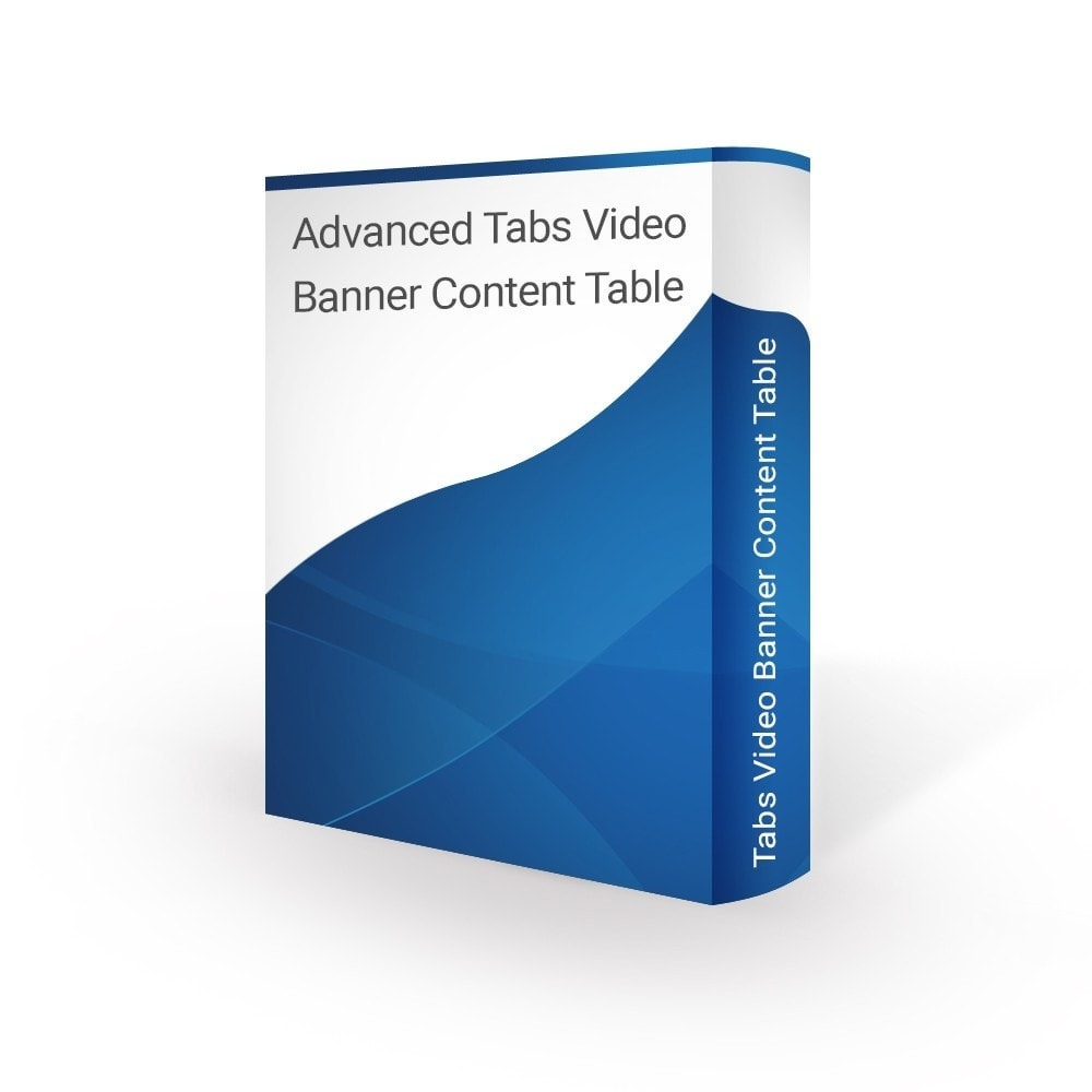 module - Blocos, Guias & Banners - Advanced Tabs Video Banner Content Table - 1