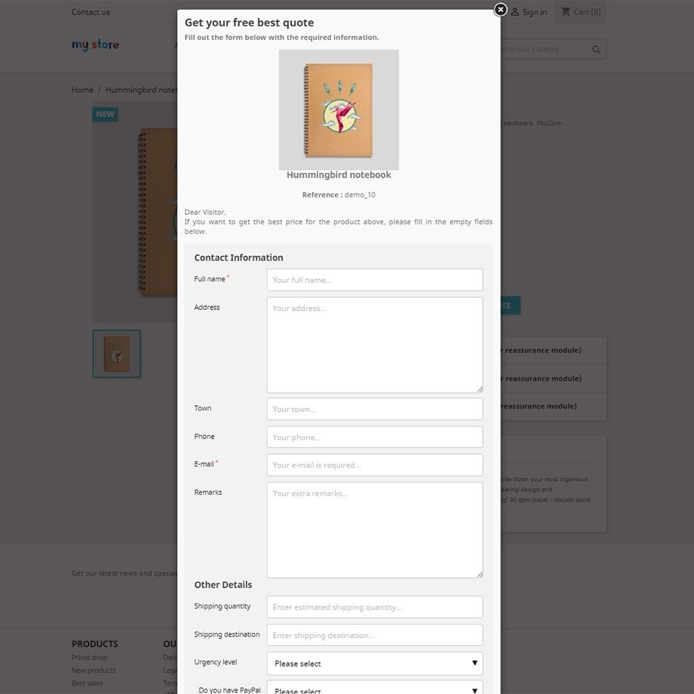 module - Offertes - Responsive Ask for a Quote - 3