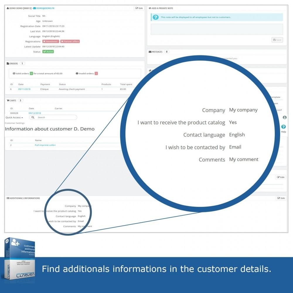 module - Procedury składania zamówień - Customers Additional Informations - 8