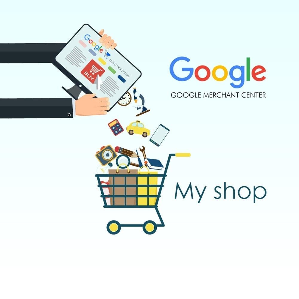 module - Сравнение цен - Экспорт товаров в Google merchants (Google Shopping) - 1