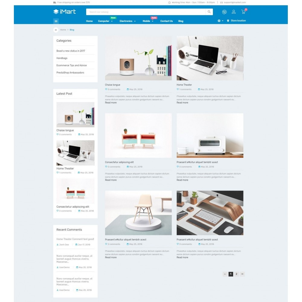 theme - Electronics & Computers - iMart Electronic Store - 7