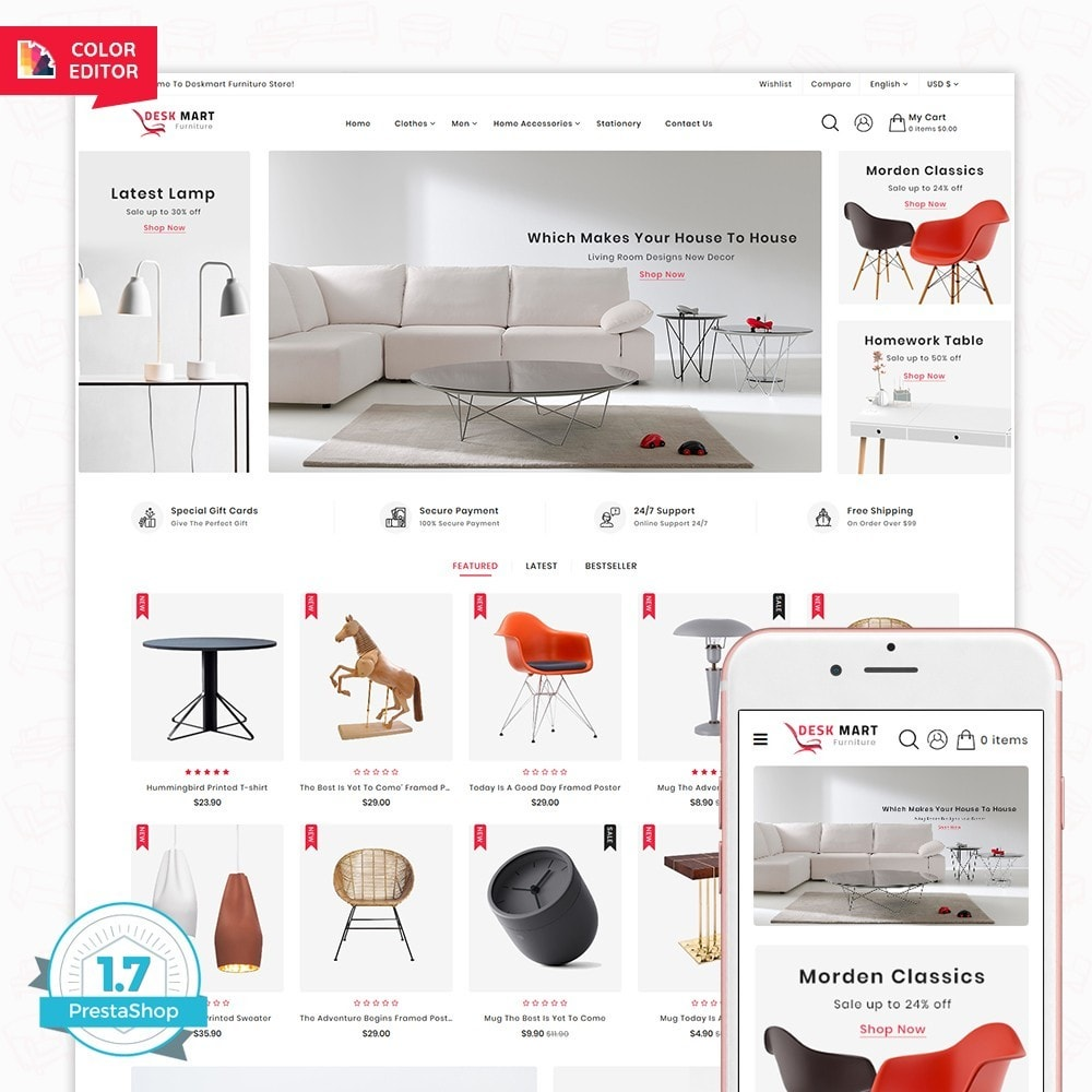 theme - Home & Garden - DeskMart  - The Furniture Shop - 1